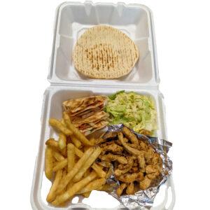 Chicken Shawerma Platter
